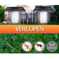 Voordeelvanger.nl 2: Tuinlamp solar & insectenverdelger