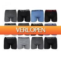 Koopjedeal.nl 1: 12-pack Pierre Calvini boxershorts