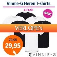 1dagactie.nl: 6-pack Vinnie-G heren T-shirts