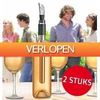 6deals.nl: 2-pack wijnkoelsticks