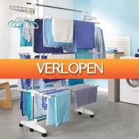 CheckDieDeal.nl: Multifunctioneel inklapbaar wasrek