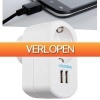 6deals.nl: USB-stopcontact