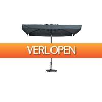 Leenbakker.nl: Madison parasol Delos luxe 200 x 300 cm