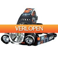 Slimmedealtjes.nl: LED-hoofdlamp 3000 Lumen