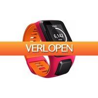 Coolblue.nl 1: TomTom Runner 3 Cardio Dark Pink/Orange - S