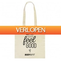 BodyenFitshop.nl: Canvas tas