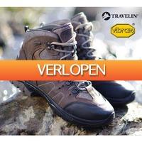 Koopjedeal.nl 1: Lederen Travelin Outdoor wandelschoenen