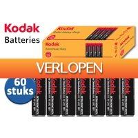 DealDonkey.com 3: 60 Kodak extra heavy duty batterijen