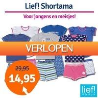 1dagactie.nl: Lief! shortama