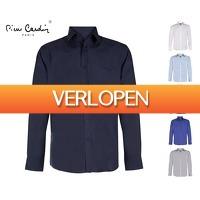 Voordeelvanger.nl: Pierre Cardin Overhemden - Kies Uit Maat S t/m XXL En 6 kleuren