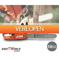 Voordeelvanger.nl 2: Kraftworld Kettingzaag 58CC 2700W 500MM