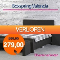 1dagactie.nl: Boxspring Valencia