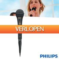 Wilpe.com - Elektra: Philips microfoon met kabel