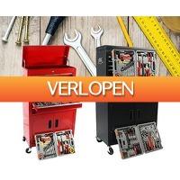 Telegraaf Aanbiedingen: Toolwelle gereedschapswagen