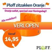 1dagactie.nl: Ploff oranje zitzakken