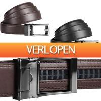 CheckDieDeal.nl 2: Lederen riem met automatische gesp