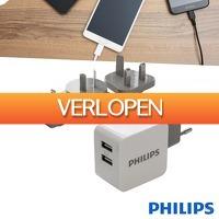 Wilpe.com - Elektra: Philips USB universele reisoplader