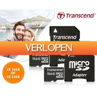 1DayFly: 2-pack Transcend microSD kaarten