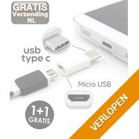 Micro-USB naar Type-C adapter