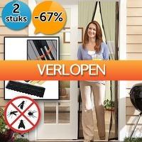 Slimmedealtjes.nl: 2 x zelfsluitend magnetisch muggenscherm