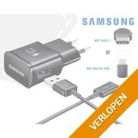 Samsung fast charger met kabel