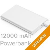 Ultra Dunne Dual USB 12000 mAH Powerbank Charger