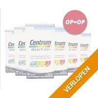 Centrum Jaarpack Multivitamine Voedingssupplement - Select 50+ Advanced - 360 Tabletten