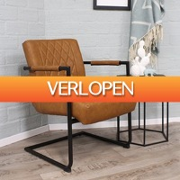 HomeHaves.com: Industriele fauteuil Kensington