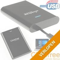 Clickfree C2 SSD HDD harde schijf behuizing