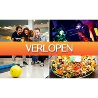 SocialDeal.nl 2: Bowlen + 1 spel lasergame + hapjes