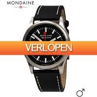Dailywatchclub.nl: Mondaine heren horloge
