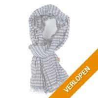 Sarlini sjaal ruit donkerblauw