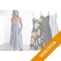 Button jurk