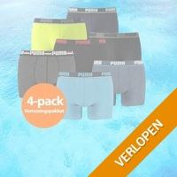 4-pack Puma boxershorts