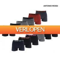 Koopjedeal.nl 1: 12-pack Antonio Rossi katoenen boxershorts