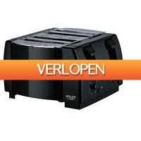 SelectDeals.nl: Adler AD 3211 dubbele broodrooster
