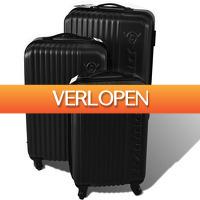 Dealqlub.com: 3-delige kofferset van Dunlop