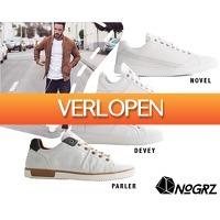 1DayFly Lifestyle: Witte sneakers van NoGrz