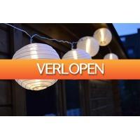 CheckDieDeal.nl 2: Lampion LED lichtslinger