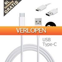 Mob-Com: Type C USB-kabel 1+1 gratis