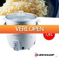 Wilpe.com - Home & Living: Dunlop rijstkoker 1,8L