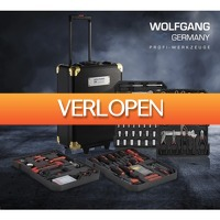 Koopjedeal.nl 2: 320-delige gereedschapstrolley van Wolfgang Germany