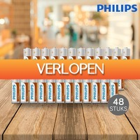 DealDigger.nl: 48 x Philips LongLife batterijen
