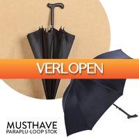 DealDigger.nl 2: Multifunctionele loopstok/ paraplu