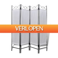 VidaXL.nl: Opvouwbaar kamerscherm
