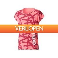 Avantisport.nl: Adidas YG Linear P Tee dames T-shirt