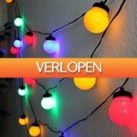 Stuntwinkel.nl: Feestverlichting met 10 gekleurde LED-lampen