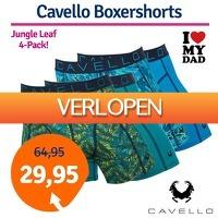 1dagactie.nl: Cavello Jungle Leaf boxershorts