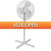 Stuntwinkel.nl: Excellent Electrics staande ventilator wit