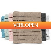 iBOOD Home & Living: 8 x Everyday Luxury handdoek